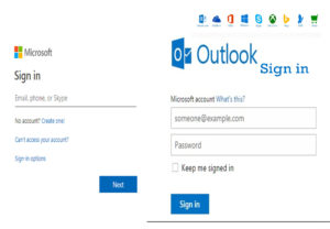 Sign into Microsoft Outlook - Microsoft Outlook Account login | www.outlook.live.com