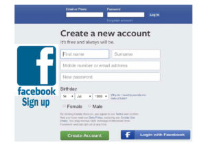 Facebook Sign up- Log in or Sign up | Facebook Sign up New Account
