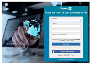 LinkedIn Sign up - Create LinkedIn Account for Jobs   LinkedIn sign in with Facebook