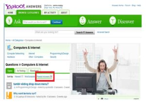 Yahoo Answers - Ask, Edit a Question on Yahoo Answers